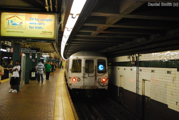 R44 C Train At 125th Street (2010)