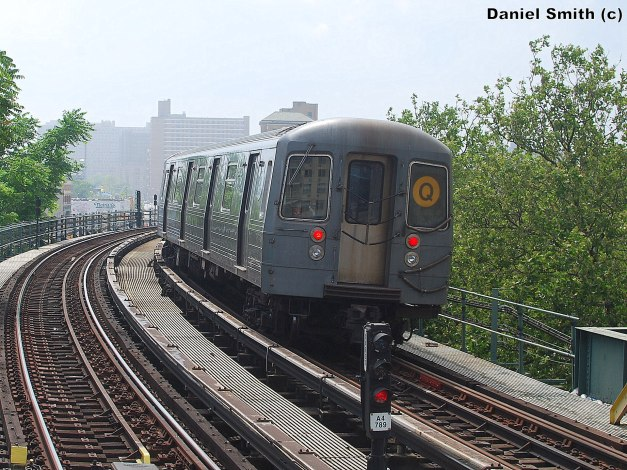 R68A Q Train At West 8th Street