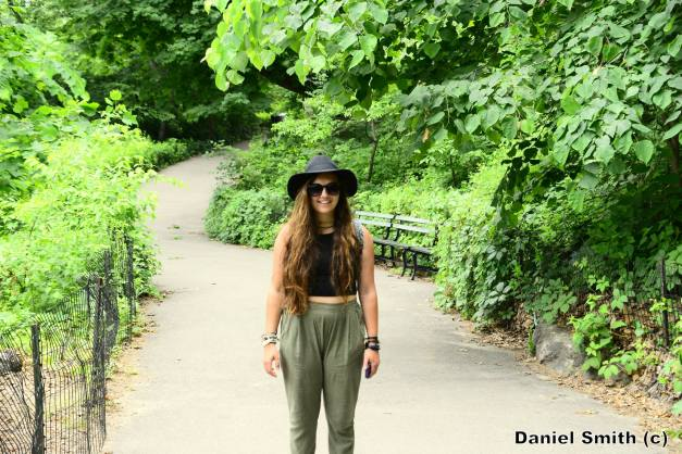 Kate At Central Park