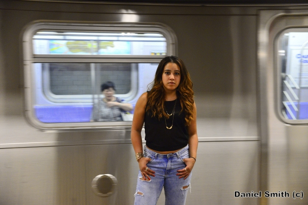 Hip-hop Dancer And M Train
