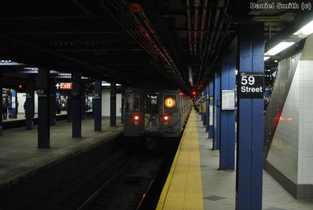 R68A D Train - 59th Street