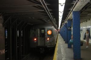 R68A B Train - 116th Street