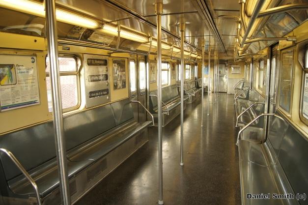 R32 A Train Interior