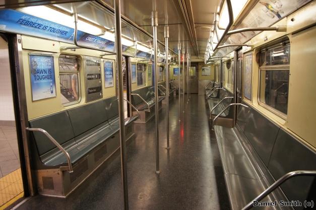 R32 C Train Interior