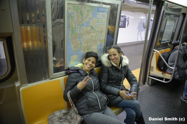 Smiling On The D Train Local