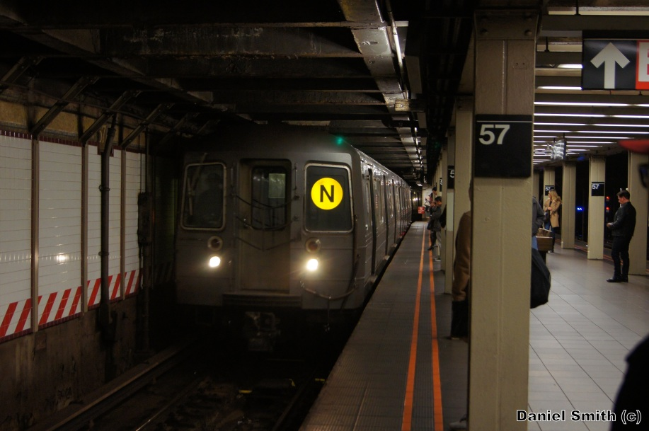 R68A N Train 57th Street 7th Avenue