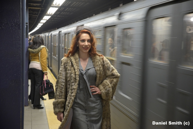 Women And Vintage Train