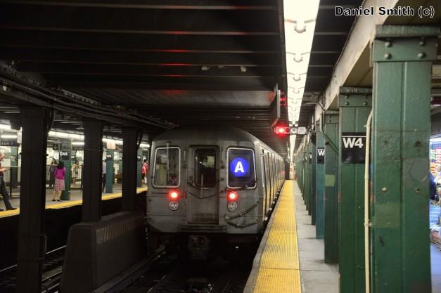 R68 A Train At West 4th Street