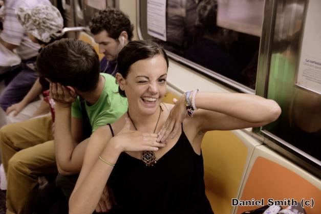 Cute Girl On The 3 Train.