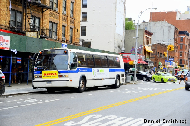 NovaBus RTS-06 9389 On The M10 At West 116th Street