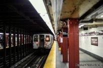 R68 (D) Train Leaves 34th Street-Penn Station