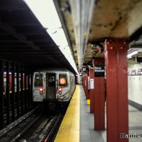 R68 (D) Train Leaves 34th Street-Penn Station