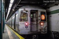 R68 (D) Train At Norwood-205th Street