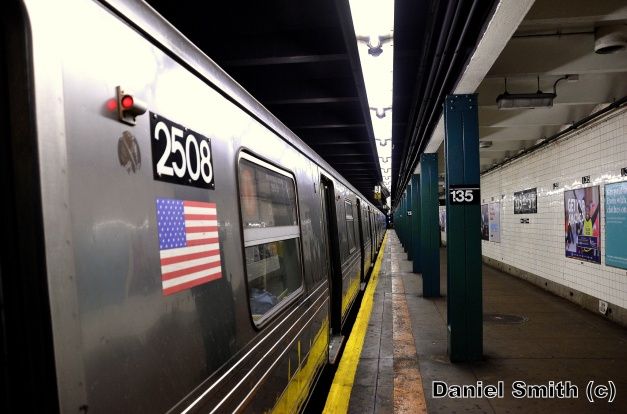 R68 2508 On The D Train At 135th Street