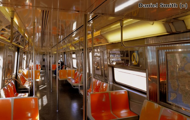 R68 (N) Train Interior
