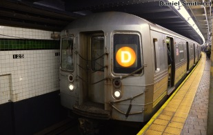 Zach Summer Operating R68 2622 On The D Train At 125th Street