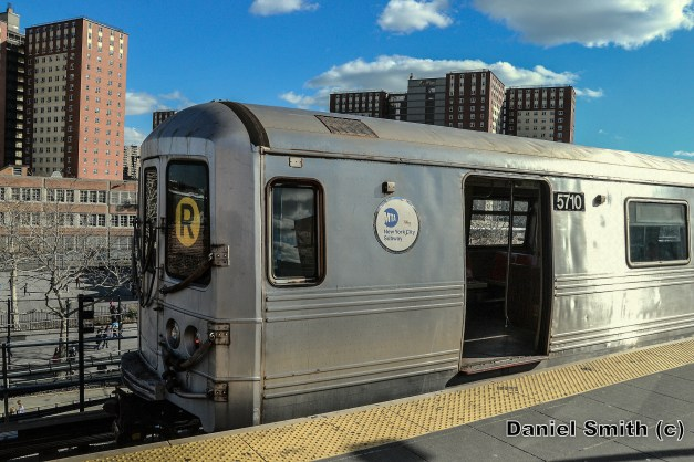R46 R Train At Coney Island