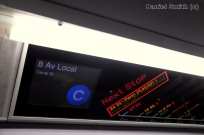 R160 C Train FIND Display To Canal Street