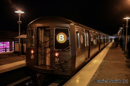 R68A B Train At Bay Parkway