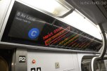 R160 C Train FIND Display To World Trade Center
