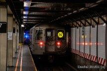 R68 N Train Leaves 57th Street