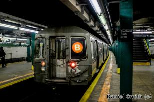 R68 B Train At Bedford Park Blvd