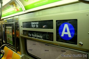 R68 (A) Train Interior Rollsign