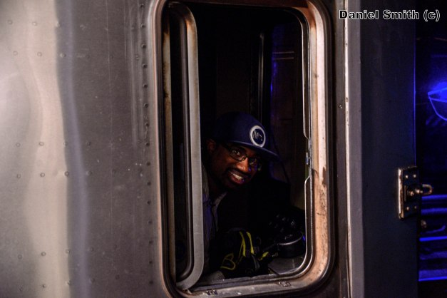 Carlton Walton Operating The A Line At 116th Street