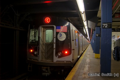 R160A-1 C Train At 72nd Street