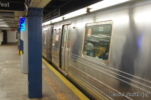 R68A 5001 On The B Train At 72nd Street