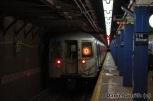 R68 (D) Train Leaves 116th Street