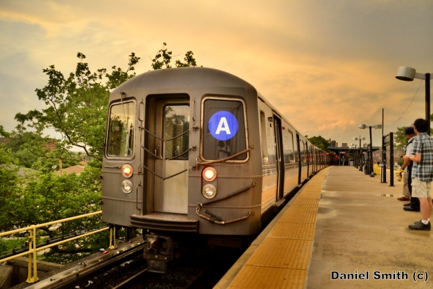 R68A A Train At Far Rockaway