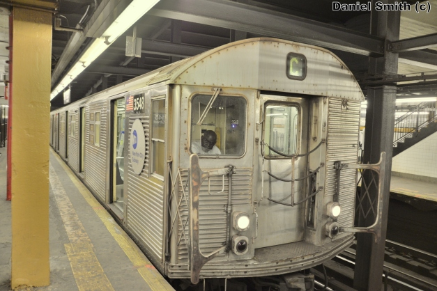 R32 C Train At 145th Street