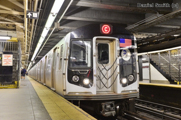 R160 C Train At 168th Street