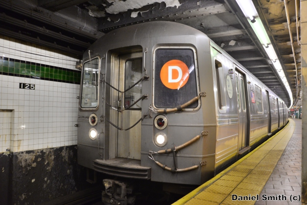 R68A D Train At 125th Street