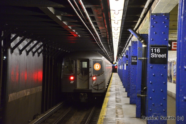 R68A D Train Leaves 116th Street