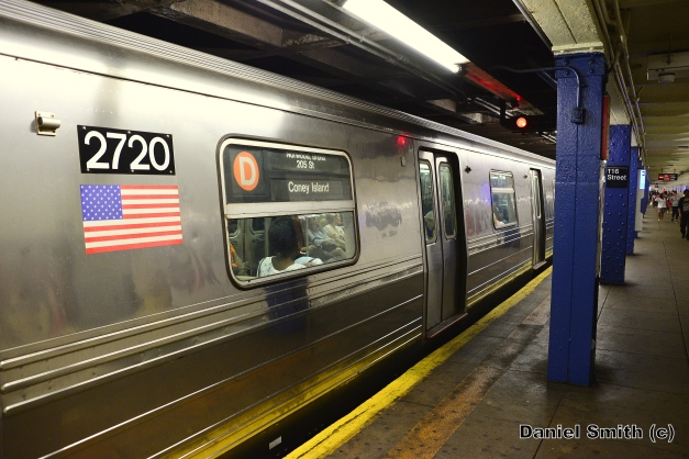 R68 2720 On The D Train At West 116th Street