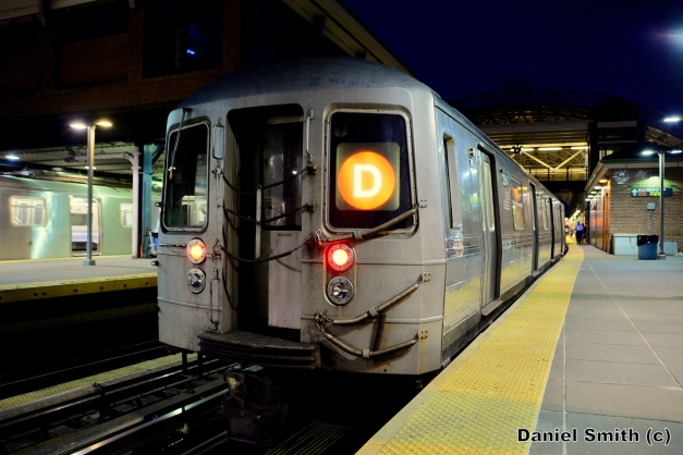 R68 (D) Train At Coney Island