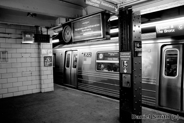 R68 2532 On The D Train At 116th Street