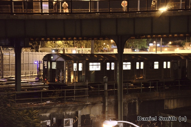 R32 J Train At East New York Yard