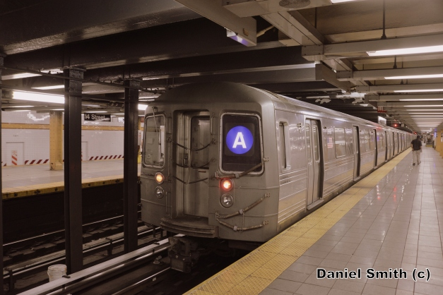R68 A Train At 14th Street-8th Avenue