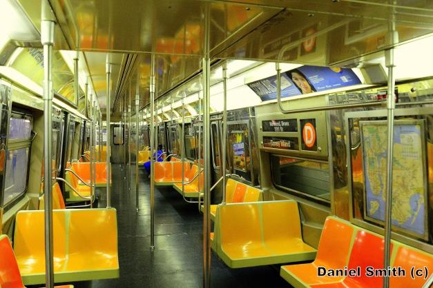 R68 (D) Train Interior