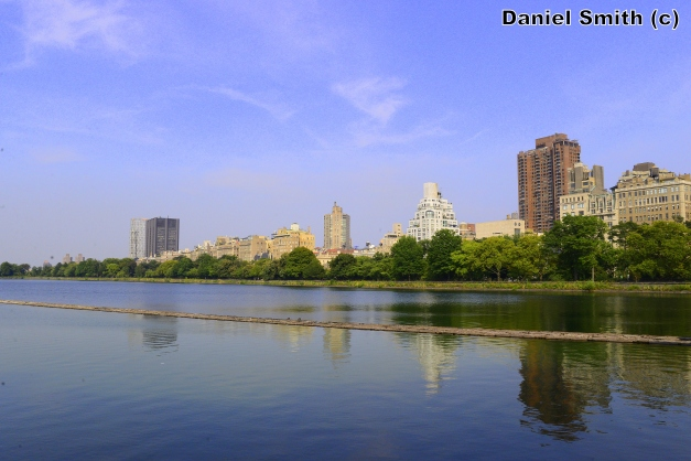 The Beautiful Scenery Of Central Park