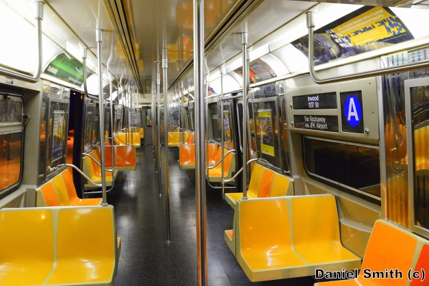 R68 (A) Train Interior