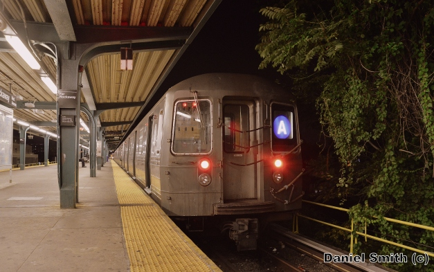 R68 A Train At Far Rockaway