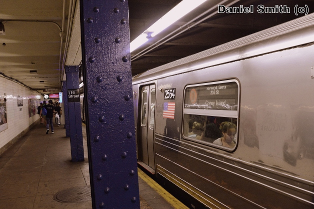 R68 2564 On The D Train At 116th Street