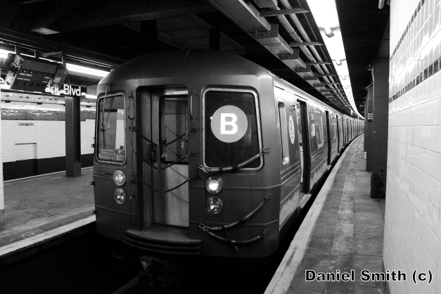 R68A B Train At Bedford Park Blvd
