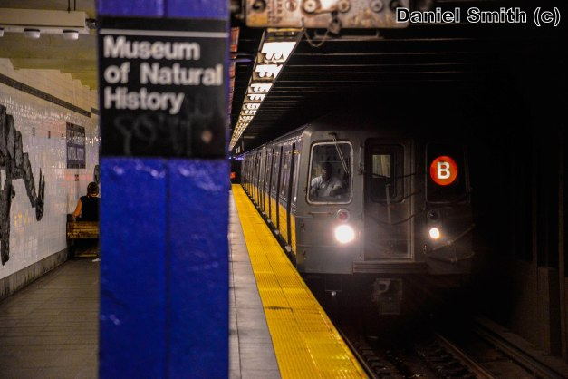 R68 B Train Approaching 81st Street