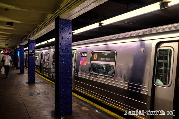 R68 2546 On The D Train At 116th Street