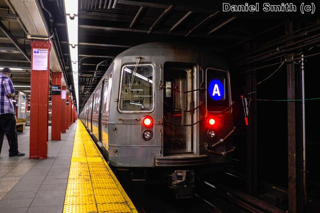 R68 A Train At 34th Street
